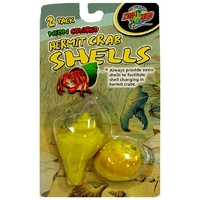 Zoo Med Neon Hermit Crab Shells 2 Pack