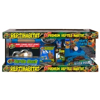 Zoo Med Reptihabitat 20gal Turtle Starter Kit