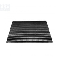 Black Egg Crate 60x60cm Sheet