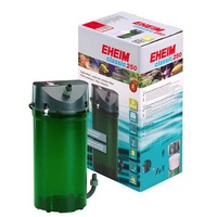 Eheim Classic 2213 / 250 External Canister Filter 440L/H Includes Media