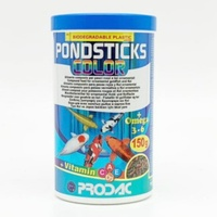 Prodac Colour Pond Sticks 150G Pondsticks All Goldfish