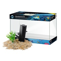 BLUE PLANET GLASS AQUARIUM KIT 16LT