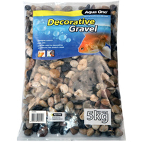 Aqua One Decorative Gravel Polished 5Kg 10305B