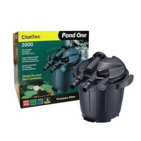 Pond One Claritec 3000Uv Pressurised Filter With 9W Uvc 93044 Aqua One