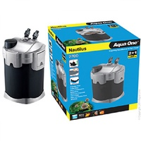 AQUA ONE NAUTILUS 2700 EXTERNAL CANISTER FILTER 2700L/H MEDIA INCLUDED
