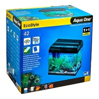 Aqua One EcoStyle 42 28L Rectangular Aquarium