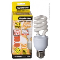 Reptile One Compact Uvb Bulb 26W Uvb 10.0 E27 Fitting 46700