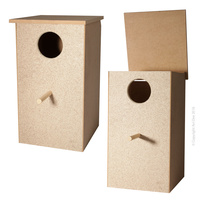 Avi One Wooden Tall Parrot Nest Box 46cm Tall