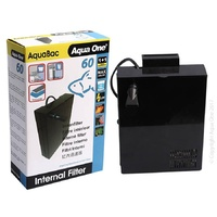 Aqua One AquaBac 60 Internal Back Filter 200L/H