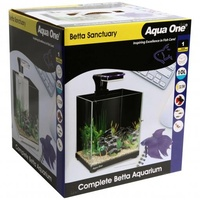 Aqua One Betta Sanctuary 10L Black 56308BK