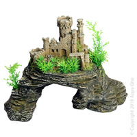 Aqua One Ornament Castle On Cave Rock 36892