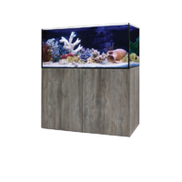 Aqua One Aquasys 315 Aquarium with Nebraska Oak Cabinet 53454 Freshwater