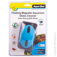 Aqua One Floating Magnet Cleaner ExStrong With Blade 10109