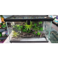 URS Mini Display Tank Terrarium With LED