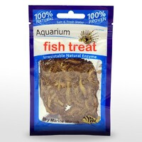 Fish Treat Dry Marine Worms 5G