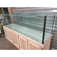"Glass Aquarium 72X24X24"" 10mm Glass 612L"